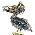 Pelican by Jenny Wood