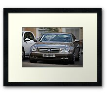 luxury car Framed Print