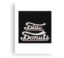J DILLA DONUTS RIP Canvas Print