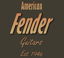 American Fender Est 1946 by tenerson