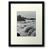 We Used to Vacation Framed Print