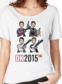Denmark 2015 Women's Relaxed Fit T-Shirt