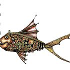 Steampunk fish by Jenny Wood