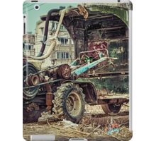 Abandoned decayed vehicle iPad Case/Skin