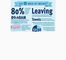 Wee at Work Infographic  Unisex T-Shirt
