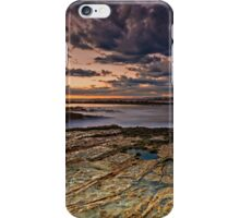 Sunset At Swansea Heads iPhone Case/Skin
