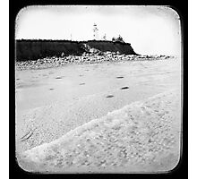 Lighthouse, Panmure Island Photographic Print