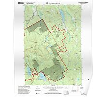 Maine USGS Historical Map East Stoneham 105100 1995 24000 Poster