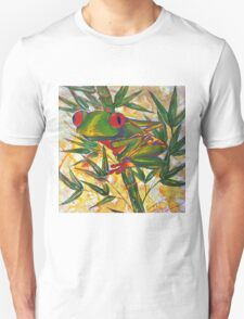 Frog and Bamboo Unisex T-Shirt