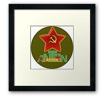 Anton Army Framed Print