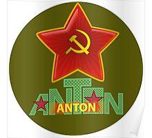 Anton Army Poster