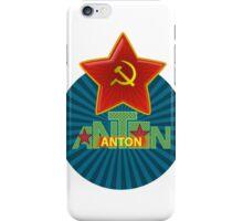 Anton Name iPhone Case/Skin