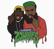 flatbush zombies cartoon by dankstuff