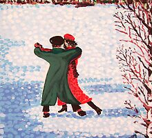 Snow Tango by Alan Hogan