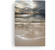 A Soft, Silver Evening Canvas Print