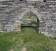 Cross church door by John Quinn