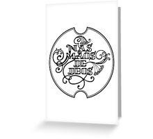 NMDD Greeting Card
