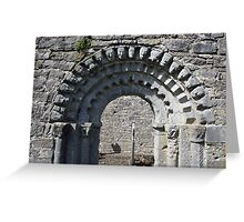 Dysert o Dea church arch Greeting Card