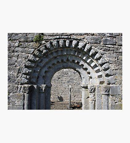Dysert o Dea church arch Photographic Print
