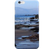 Rock Ponds On Sandy Beach iPhone Case/Skin
