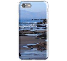 Rock Ponds On Sandy Beach iPhone Case/Skin