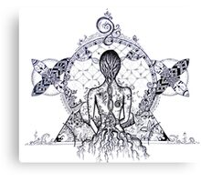 I am Earth Canvas Print