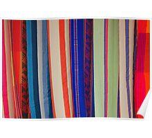 Bright Hammock Patterns Poster
