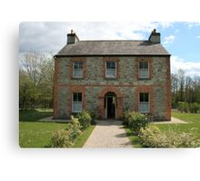 Irish farmhouse Canvas Print