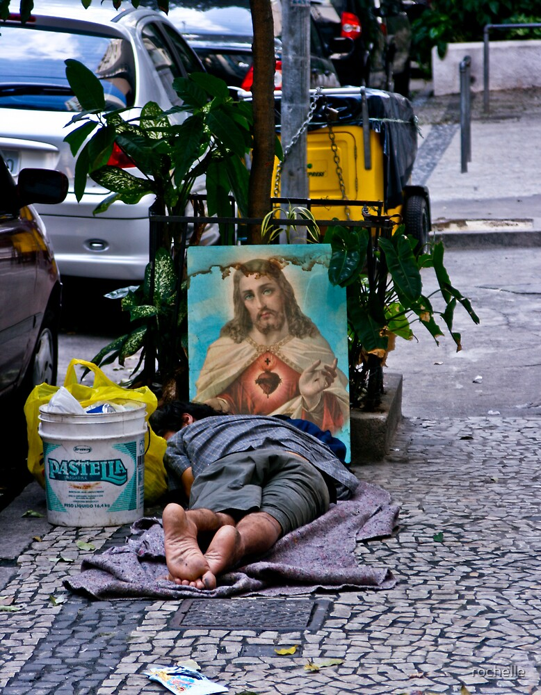 Comfort on the street. Rio, Brazil by rochelle