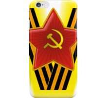 St. George Ribbon iPhone Case/Skin