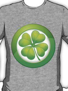 Saint Patrick's Day, Four Leaf Clovers T-Shirt