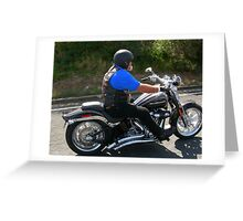 The Biker Greeting Card