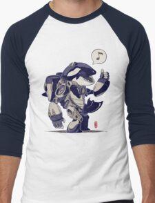 Cyb-Orca Men's Baseball ¾ T-Shirt
