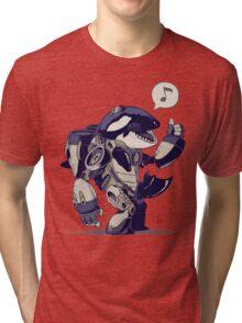 Cyb-Orca Tri-blend T-Shirt