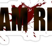 Team Rick (The Walking Dead) Sticker