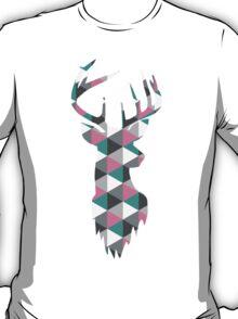 Deer Head Triangles T-Shirt