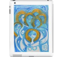 Spiritual beings- caring supportive women together  iPad Case/Skin