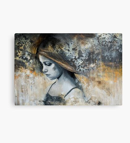 i search the silence Metal Print
