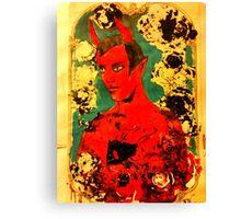 St Horny  Canvas Print