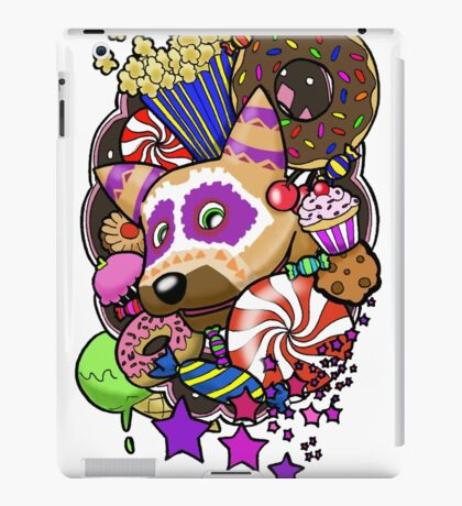 Viva Pinata - Macaraccoon Collage! iPad Case/Skin