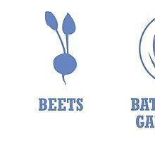 Bears, Beets, Battlestar Galactica by getonthisgfx