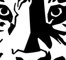 Black tiger Sticker