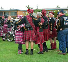 Scottish Kilts ready to ride by JuliaWright