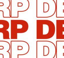 Herp DERP Sticker