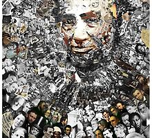 "Title: ""Rendering Myself Worthy"" Abe Lincoln, Slavery, Civil War Meta Collage by O O"