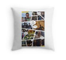 Breaking Bad Comic Throw Pillow