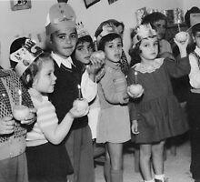 Chanukah celebration in kindergarten by Gili Orr