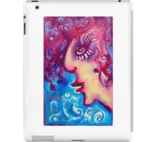 Frances - a well traveled adventurer who loves having fun iPad Case/Skin