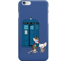 Gee Doctor What Are We Going To Do Tonight? (classic) iPhone Case/Skin