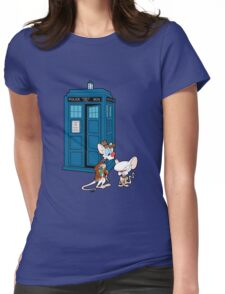 Gee Doctor What Are We Going To Do Tonight? (classic) Womens Fitted T-Shirt